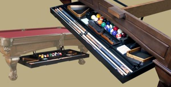 Retractable drawer game tables plus for Table bar retractable